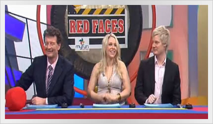 Neil Robertson Guest Judge on Red Faces - Hey Hey it's Saturday