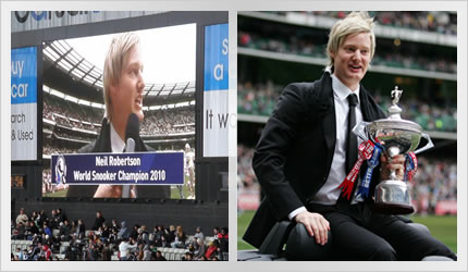 Neil Robertson - MCG Lap of Honour