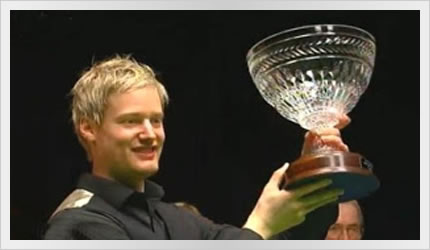 Neil wins the Alex Higgins International 2011