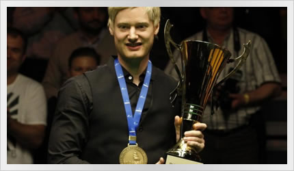 Neil wins the Gdynia Open 2012