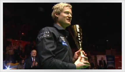 Neil wins the Gdynia Open 2015