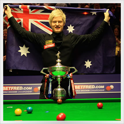 Neil Robertson World Champion 2010