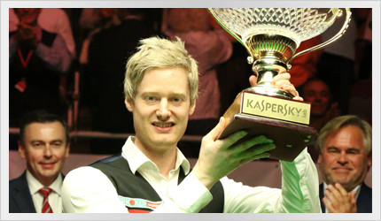 Neil wins the Riga Masters 2016