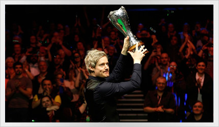 Neil wins the UK Championship 2015