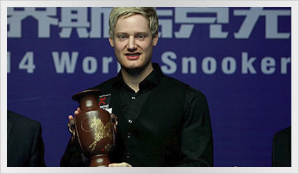 Neil wins the Wuxi Classic 2014